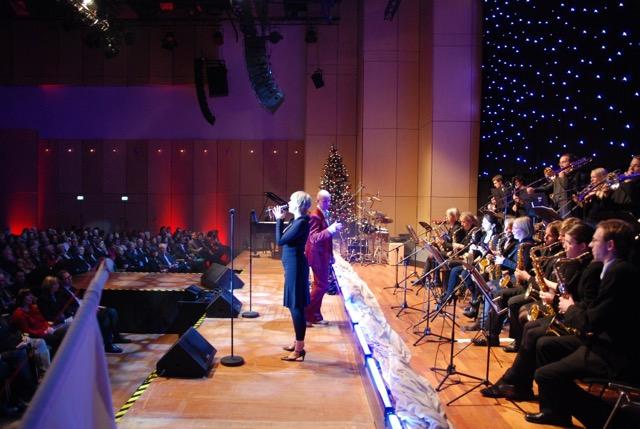 Die Uni Big Band, Leitung: Richard (RitSki) Bracht